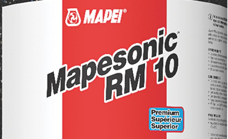 MAPEI's Mapesonic RM for High-Density Living