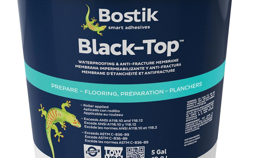 Black-Top Waterproofing and Anti-Fracture Membrane