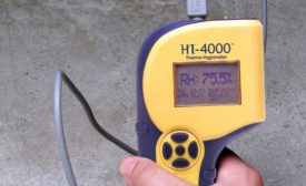 Delmhorst's HT-4000 thermo-hygrometer