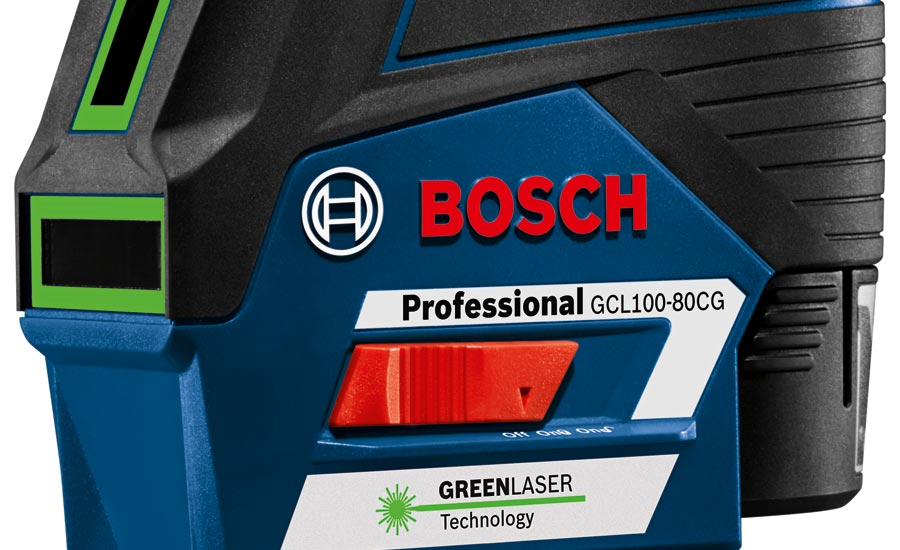 Bosch GCL100-80CG laser level