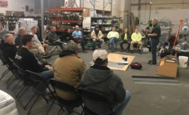 Training on Tarkett products