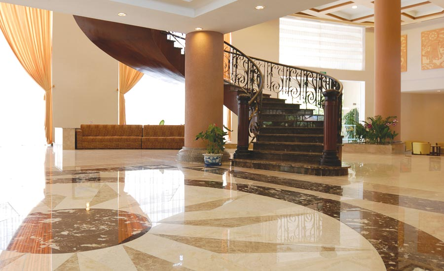 maintenance of tile and stone flooring