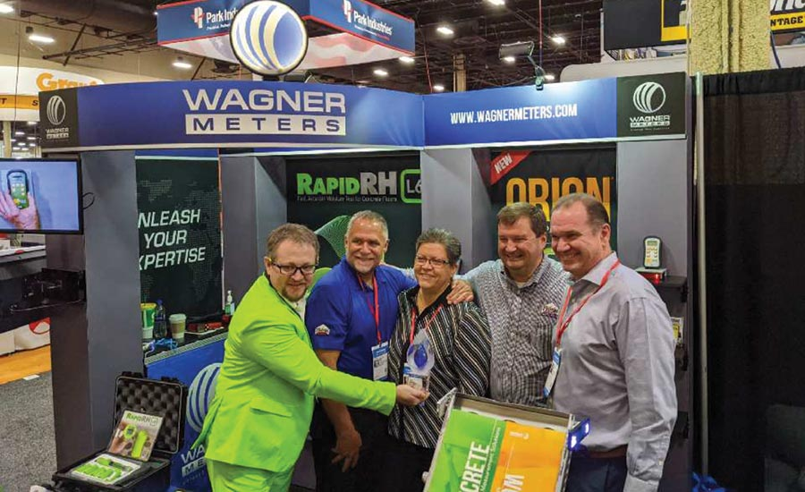 Wagner Meters named Fishman Flooring's Distributor of the Year.