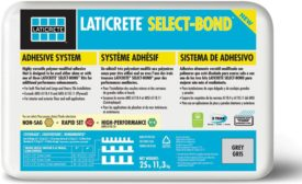 Laticrete Select-Bond adhesive