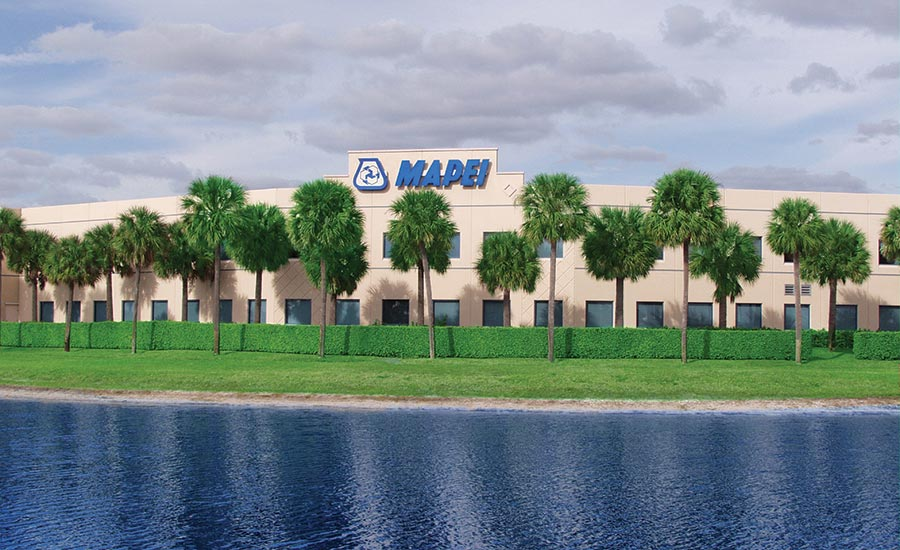 Mapei's Deerfield, Fla., headquarters