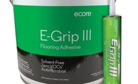 Ecore's E-Grip III flooring adhesive