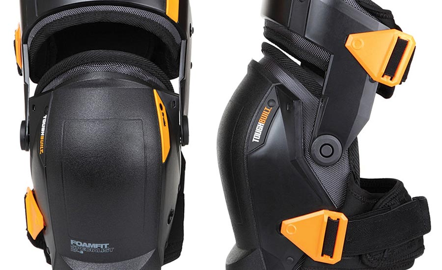 ToughBuilt Self-Stabilizing Kneepads with FoamFit