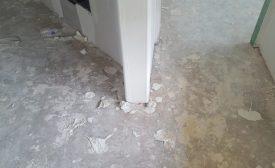flooring installation jobsite conditions