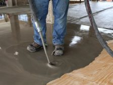 self-leveling underlayment