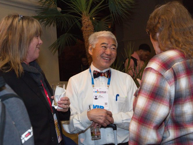 Jon Namba at an in-person industry event