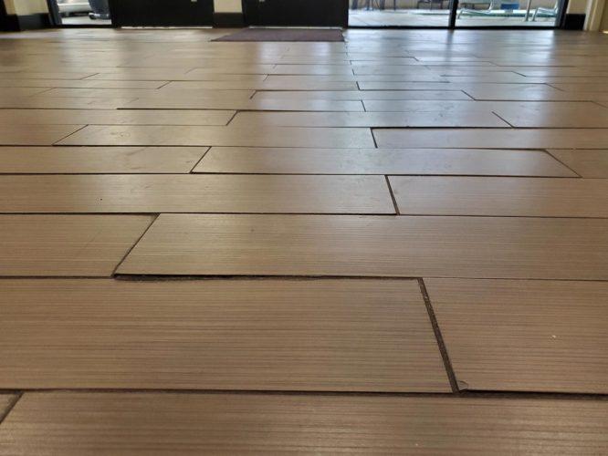 poor tile installation
