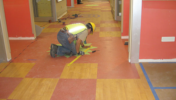 Resilient Flooring Adhesives: Working with the Right Product