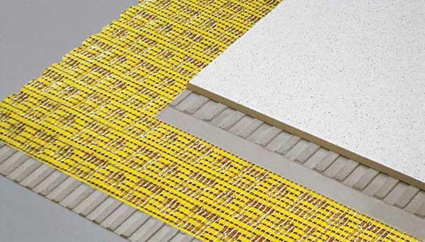 Ecb crack isolation membrane