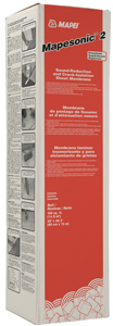 Mapesonic 2 from MAPEI a sound-reduction product