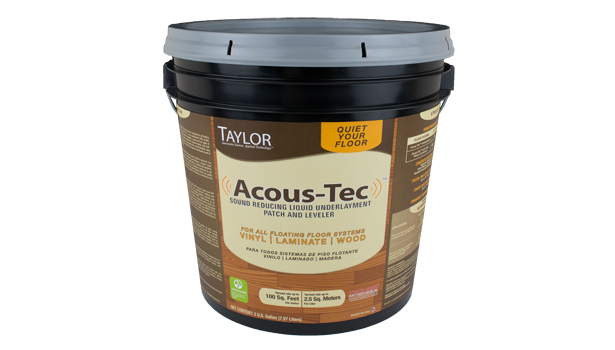 Taylor Acous Tec Sound Reducing Liquid Underlayment 2014