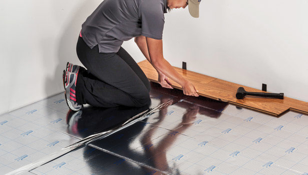 Installing Laminate Flooring Underlayment The Floor And More