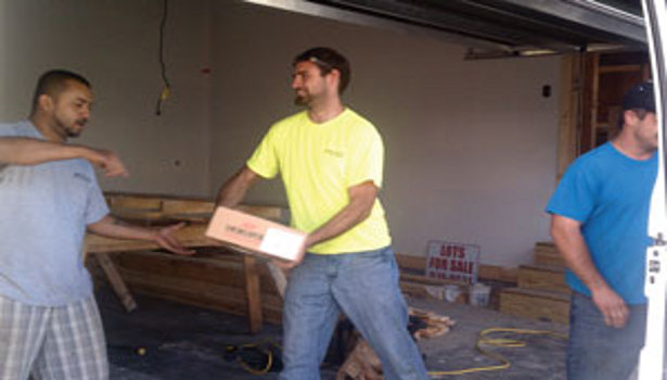 Jacksonville, N.C., Businesses Pull Together To Build Home for Wounded Returning Vet