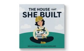 Cover image of The House That She Built Book