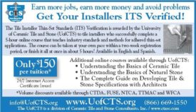 Get Your Installers ITS Verified!