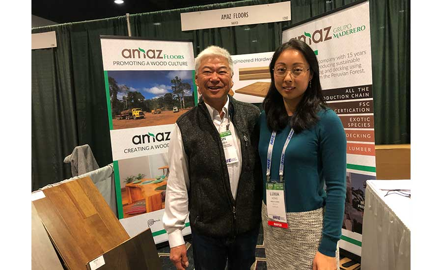 Luxia Hong with Amaz floors