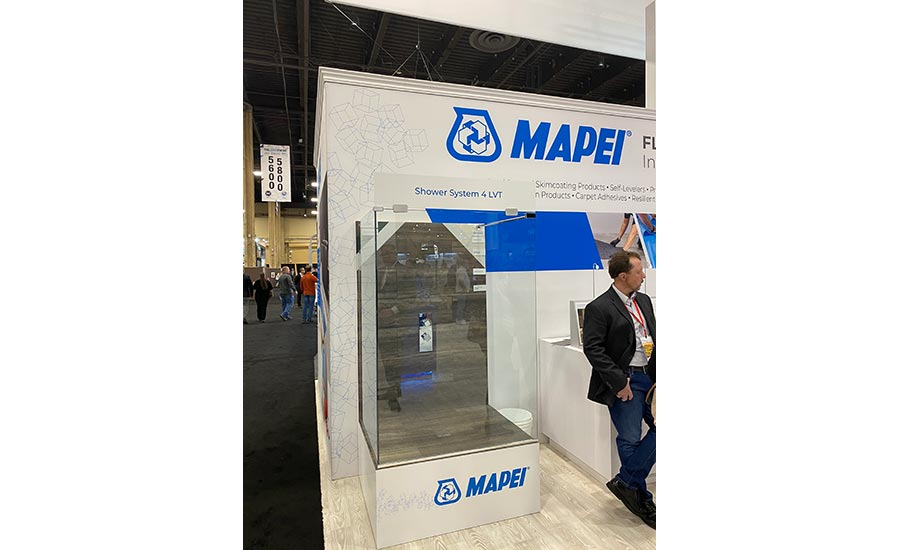 MAPEI display at TISE