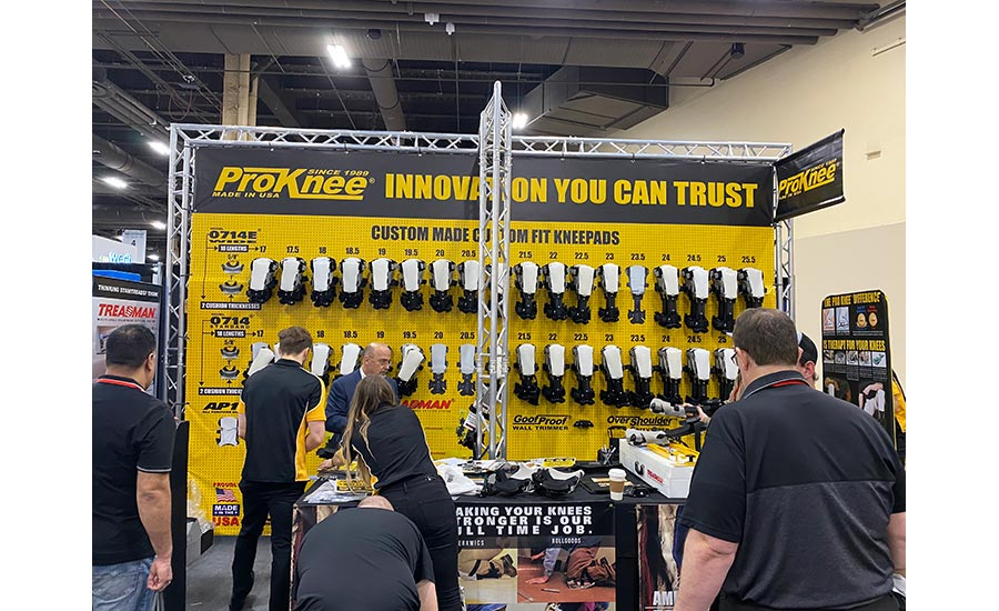 ProKnee booth at TISE