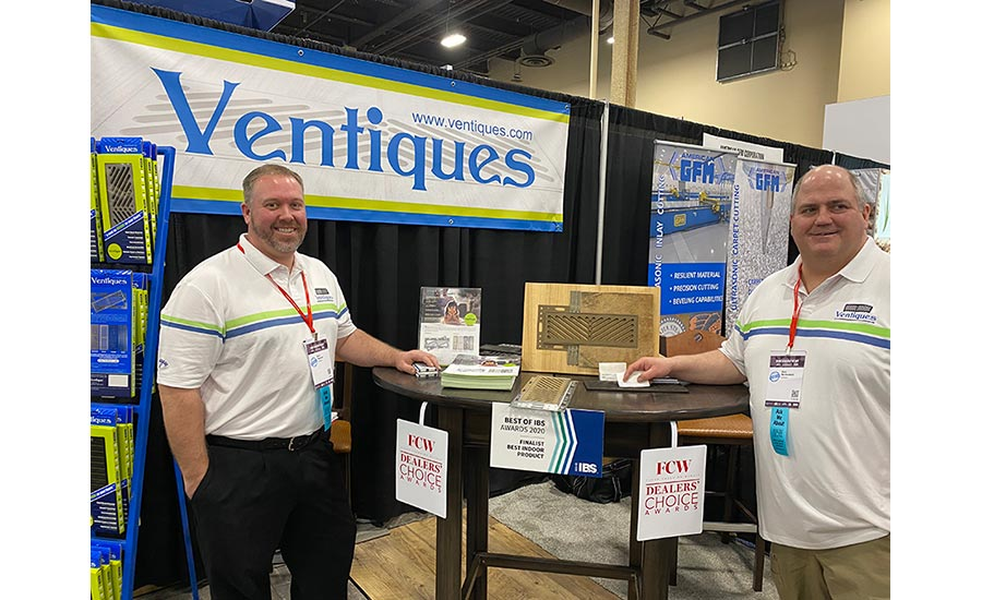 Ventiques booth at TISE