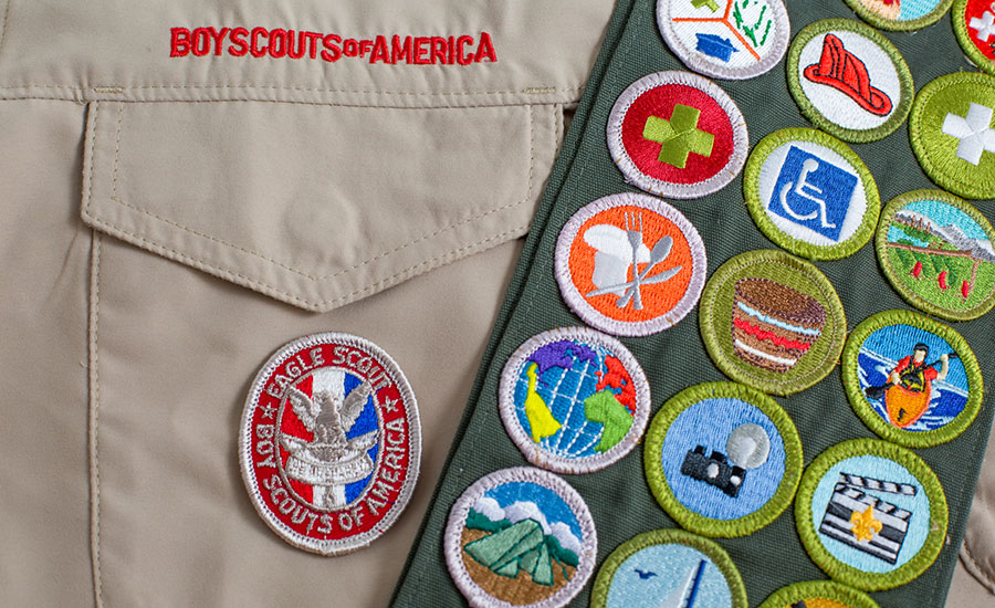 Boy Scouts' Eagle Scout rank