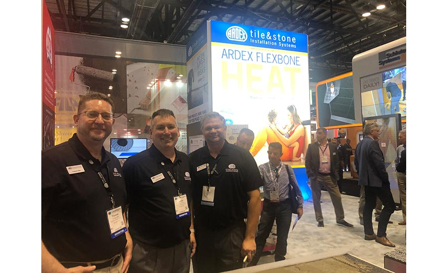 Ardex booth at Coverings 2019