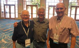 Jon Namba with Ken Hay and Lloyd Englebrecht at CFI Convention